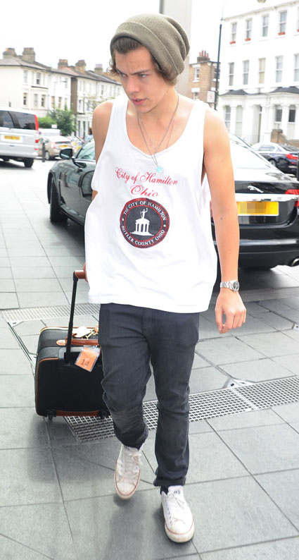 Hello Harry Styles' arms.