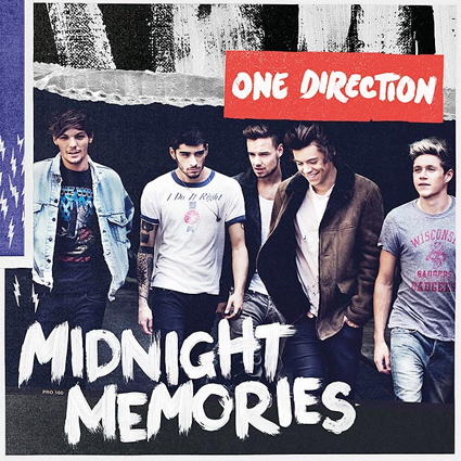 One Direction Midnight Memories album artwork - One Direction images - sugarscape.com