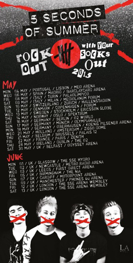 Seconds Of Summer Tour Dates Tickets 2014 Stereoboard | Auto Design ...