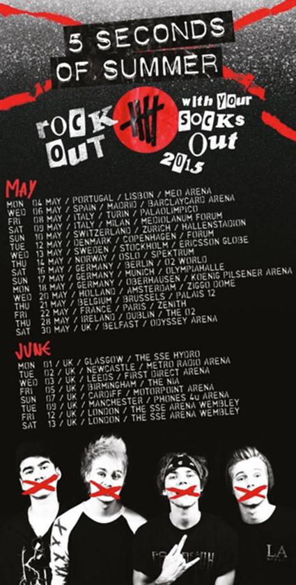 Rowyso Tour Dates