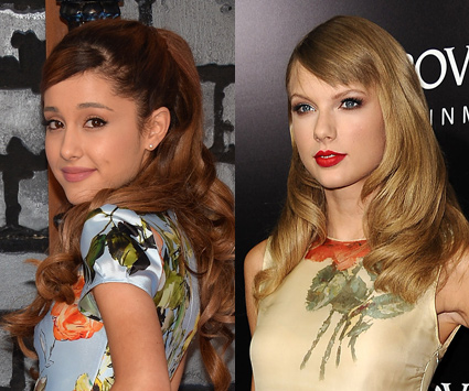 Ariana Grande and Taylor Swift - Ariana Grande images - sugarscape.com