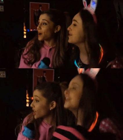Ariana Grande Tokyo karaoke - Ariana Grande images - sugarscape.com