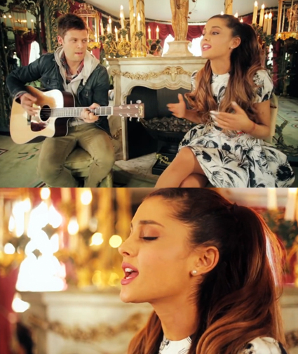 Ariana Grande sings acoustic version of The Way - Ariana Grande images - sugarscape.com