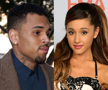 Ariana Grande and Chris Brown - Ariana Grande and Chris Brown images - sugarscape.com