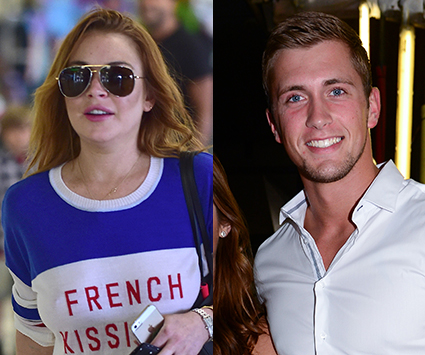 Lindsay Lohan and Dan Osborne - Lindsay Lohan and Dan Osborne images - sugarscape.com