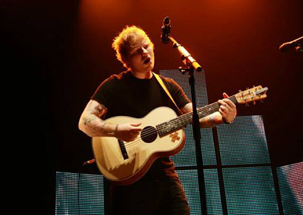 Ed Sheeran refuses to say which Hollywood star he's slept with - Ed Sheeran images - sugarscape.com