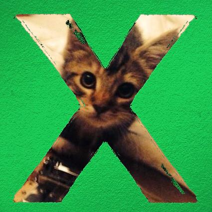 Ed Sheeran X alb...X Album Cover Ed Sheeran