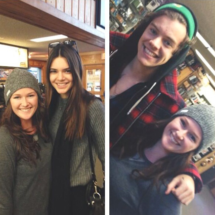 Harry Styles and Kendall Jenner ski in Mammoth - Harry Styles images - sugarscape.com