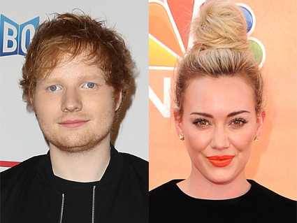 Ed Sheeran and Hilary Duff - Ed Sheeran images - sugarscape.com