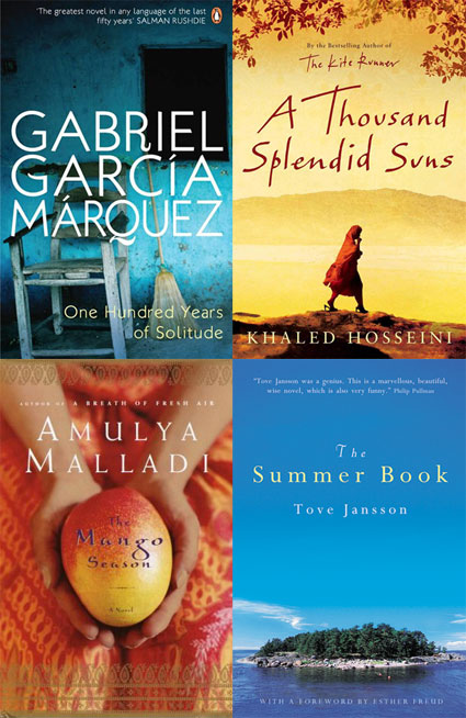 Around the world in 18 books