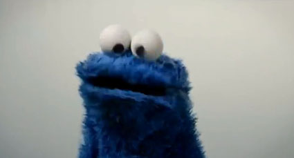 Cookie Monster covers call me maybe