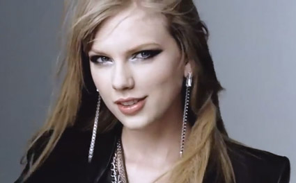 taylor swift rocker makeup