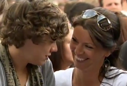 Harry Styles and Anne Cox