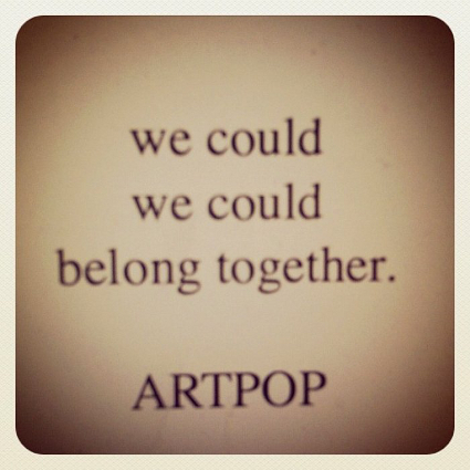 Lady Gaga announces new album ARTPOP