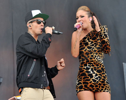 "Dappy and Tulisa in Twitter spat after he ""disses"" the X Factor"