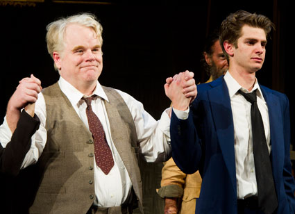 Philip Seymour Hoffman to play Plutarch Heavenswbee in Hunger Games sequel Catching Fire