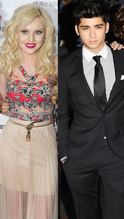 Zayn Malik declares his love for Perrie Edwards. On Twitter.