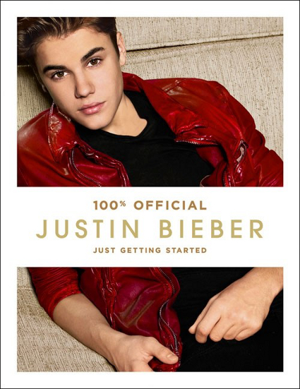Justin Bieber reveals the artwork for new book Just Getting Started