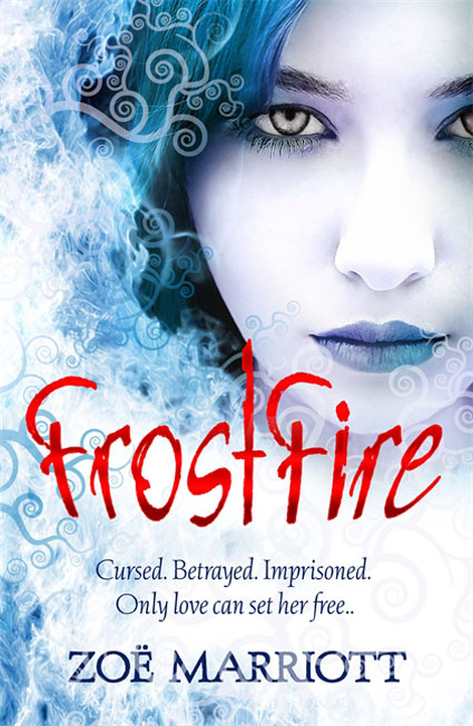 FrostFire author Zoe Marriott on paranormal love triangles and snogging Mr Darcy