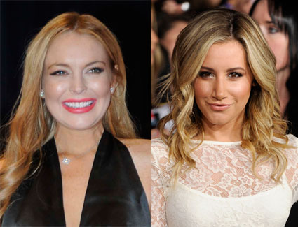 LIndsay Lohan and Ashley Tisdale to star in Scary Movie 5?