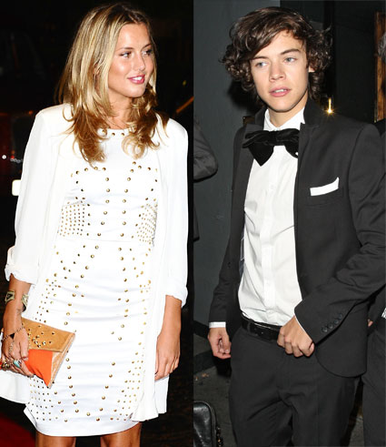 Harry Styles and Caggie Dunlop