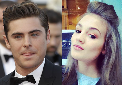 Zac Efron new lady?