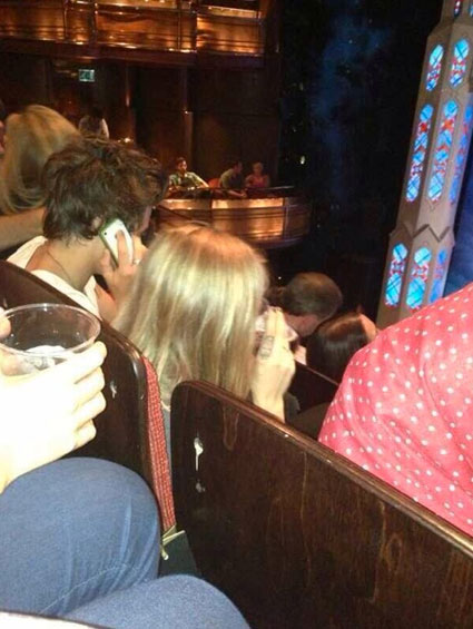 Harry Styles and Cara Delevingne theatre date - Harry Styles and Cara Delevingne images - sugarscape.com