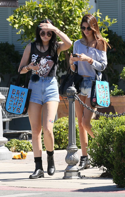 Kendall and Kylie Jenner head out shopping in LA. The Kardashians images - sugarscape.com