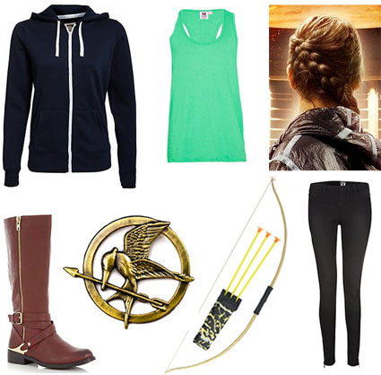 Dress up as Katniss Everdeen for Hallowee - cheap high street fancy dress