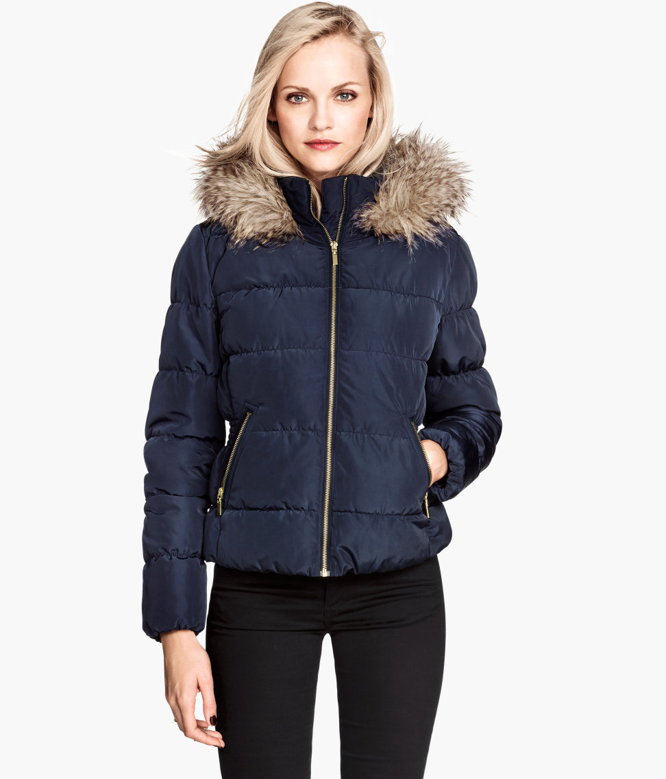Image result for womens h&m padded jacket