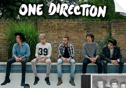 One Direction in new 'Four' album artwork pics as ...