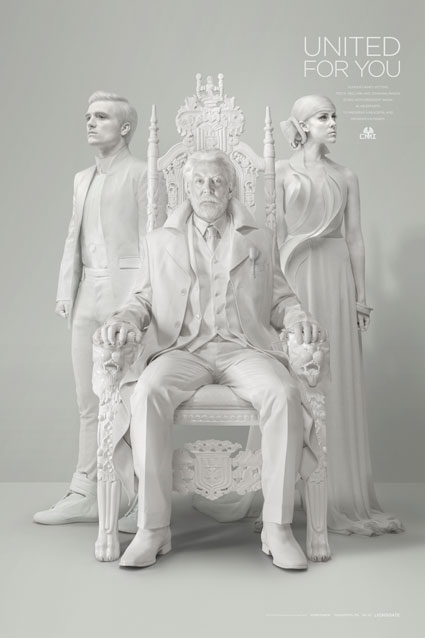 The Hunger Games Mockingjay Part 1 teaser poster with Josh Hutcherson and Jena Malone - Images - Sugarscape.com
