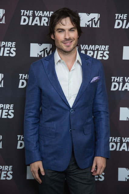Ian Somerhalder at The Vampire Diaries Mexico press conference - Images - Sugarscape.com