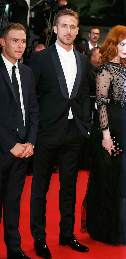 ryan gosling at cannes - ryan gosling images - sugarscape.com