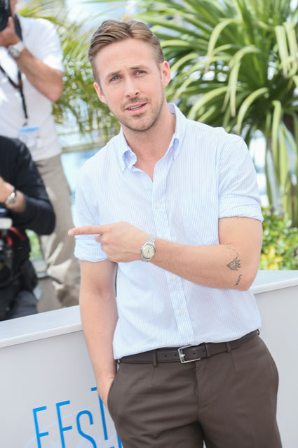 ryan gosling vs justin bieber at cannes - ryan gosling images -sugarscape.com
