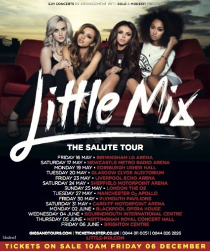 Little Mix announce Salute tour for 2014 - Little Mix images - sugarscape.com