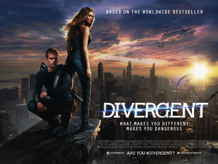 UK EXCLUSIVE: Brand new Divergent poster starring Shailene Woodley and Theo James is released - Divergent images - sugarscape.com