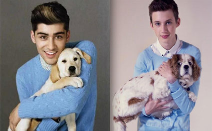 Troye Sivan and Tyler Oakley spoof One Direction for Men of YouTube calendar - Images - Sugarscape.com