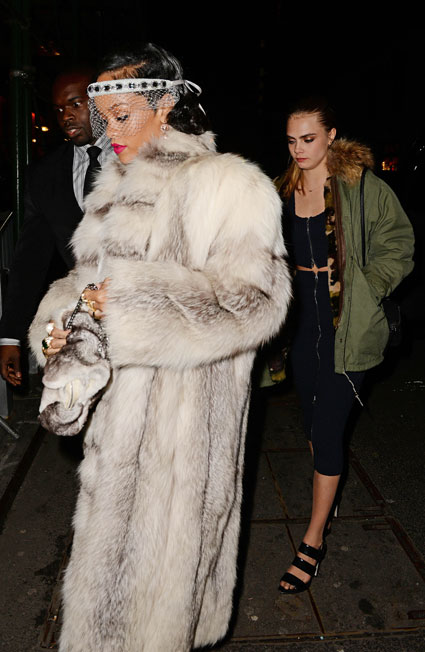 Rihanna and Cara Delevingne celebrate NYE 2014 together - Images - Sugarscape.com