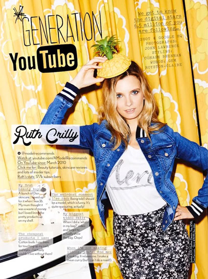 generation youtube - ruth crilly images - sugarscape.com