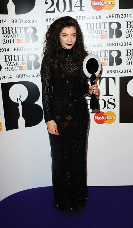 Best dressed at the BRIT Awards 2014 with Beyonce, Katy Perry, Lorde, Caroline Flack - Images - Sugarscape.com