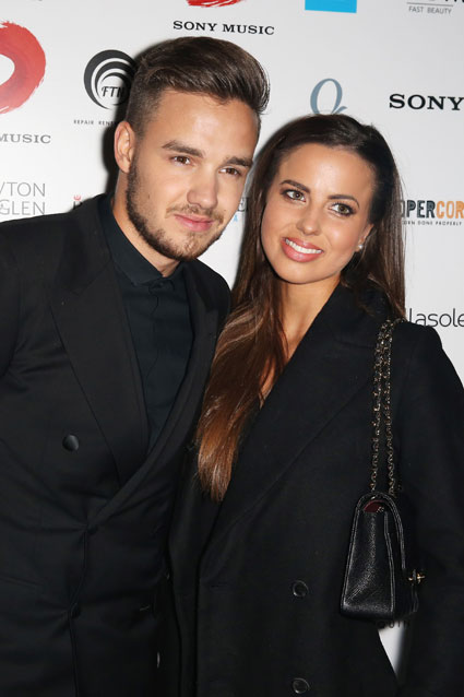 One Direction's Liam Payne and girlfriend Sophia Smith at the Sony BRIT Awards after party 2014 - images - sugarscape.com