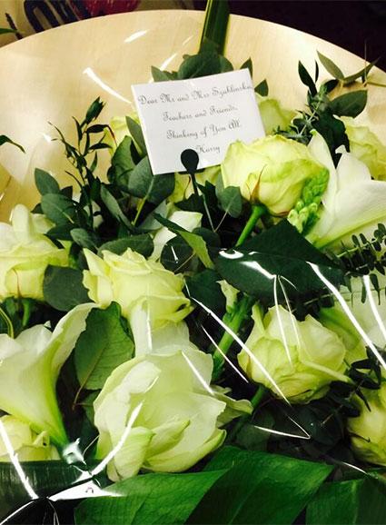 Harry's flowers