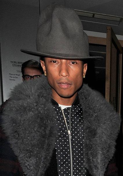 Pharrell Hat Style Harry Styles Wearing Pharrell