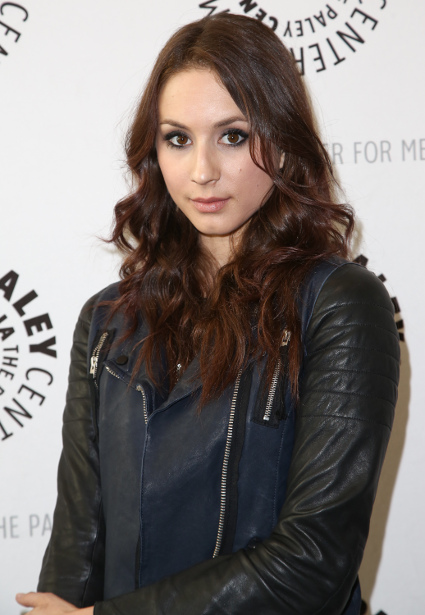 Troian Bellisario opens up about her past - Troian Bellisario images - sugarscape.com