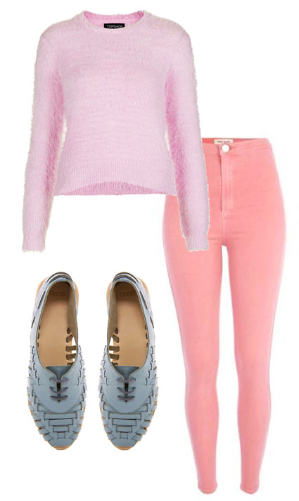 Bella Thorne Pink Bikini