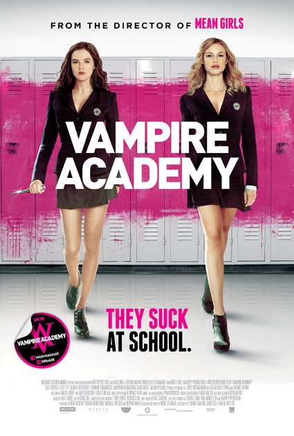 vampire academy exclusive uk poster - vampire academy images - sugarscape.com