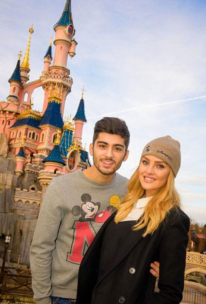 zayn perrie mickey mouse disneyland - one direction images - sugarscape.com