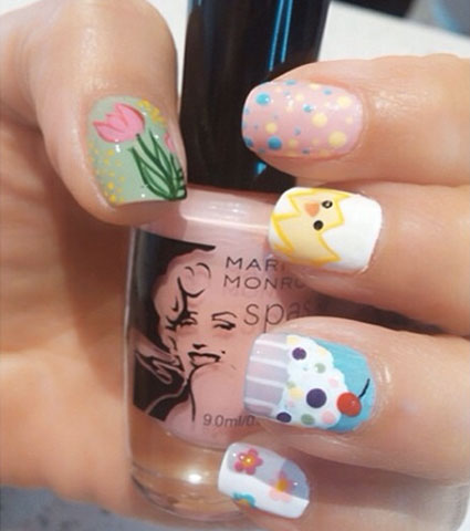 easter nail art ideas eggstremely awesome and easy to do