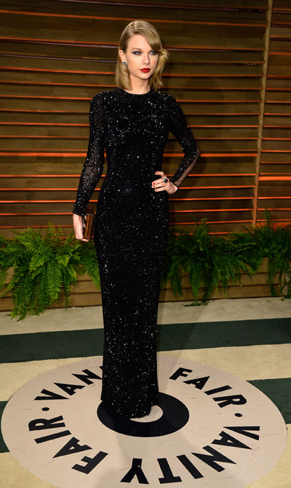 Best Dressed at the Vanity Fair Oscars after party with Jennifer Lawrence, Selena Gomez and Taylor Swift - Images - Sugarscape.com